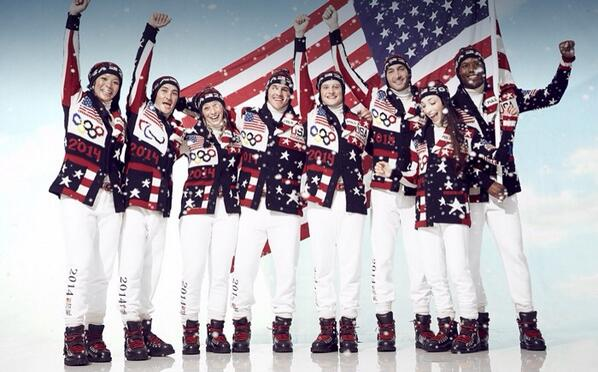 Team USA Opening Ceremony
