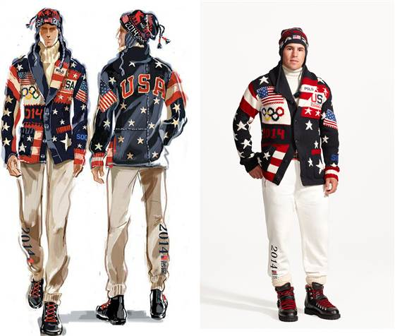 Team USA Ralph Lauren Sochi Mens