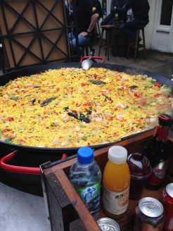 The best paella at Covent Garden. Have to be properly fed in order to shop as much as we do!