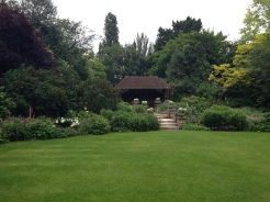 The Hurlingham Club. One of their beautiful English gardens.