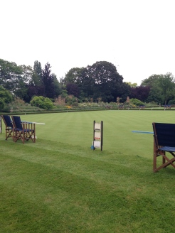 The Hurlingham Club cricket fields.