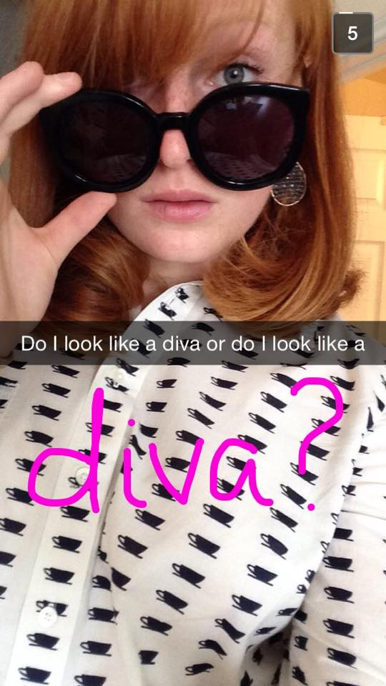 Diva with Karen Walker